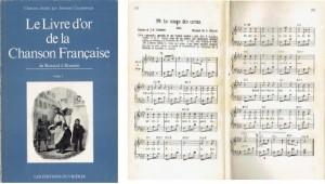 Le Livre d'or de la Chanson Francaise tome1,1971