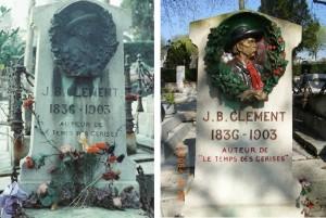 J.-B.クレマンの墓1978 同 2006