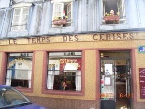 カフェ・レストランLE TEMPS DES CERISES