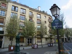 パリ・コミューン広場