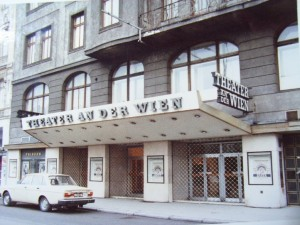 アン・デア・ウィーン[ウィーン河畔]劇場