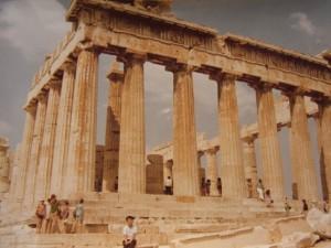 アテネ アクロポリス パルテノン神殿 1971.8.16