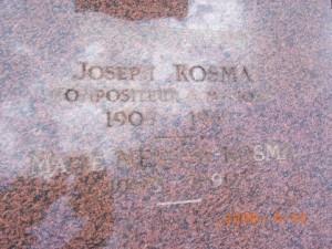 ジョセフ・コスマ(モンマルトル墓地)