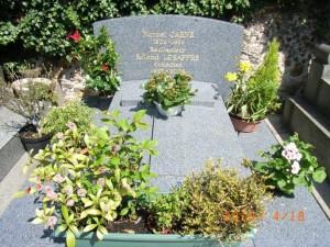 マルセル・カルネ(サン・ヴァンサン墓地)